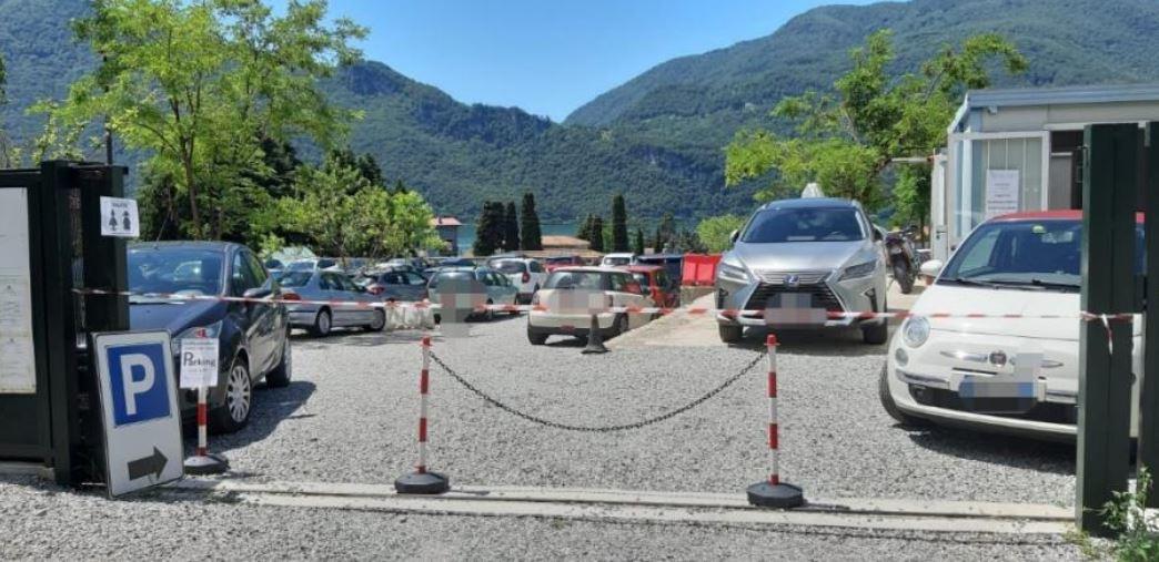 parcheggio abbadia lariana